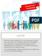 Entorno Del Marketing - Marketing!!