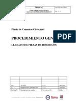 17054-9!00!000-If-Q-001-Rev1-Procedimiento General Para Llenado de Piezas de Hormigón