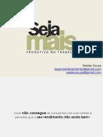 Sejamaisprodutivonotrabalho Ppt Repensetreinamentos 141024160216 Conversion Gate02 (1)