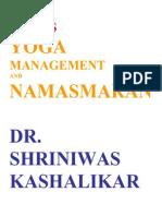 Stress Yoga Management and Namasmaran Dr. Shriniwas j. Kashalikar