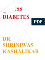 Stress and Diabetes Dr Shriniwas Kashalikar