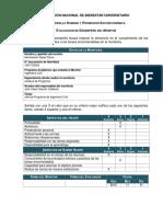 F Evaluación de Desempeño Del Monitor