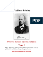 Oeuvres Choisies - Tome I