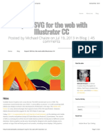 Export SVG for the web with Illustrator CC | Creative droplets