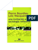 Wacquant, Loic - Una invitacion a la sociologia reflexiva.pdf