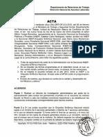 Acuerdos Seccional ANEP-Orquesta Sinfónica Nacional y la administración del Centro Nacional de la Música