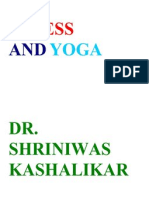 Stress and Yoga Dr. Shriniwas Kashalikar (1)