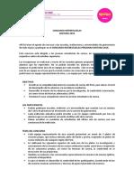 Bases Interescuelas 20161