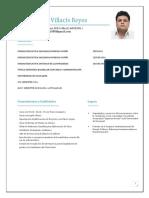 Curriculum Vitae Juan Villacis