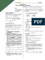 Algebra - Expresiones Algebraicas