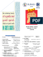 Mr & Ms. Programme