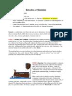 Aluminium Extraction