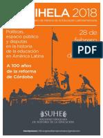 Afiche Congreso XIII CIHELA