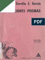 """Serafín J García """"Sus mejores poemas"""""""