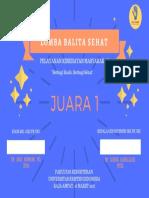 Sertifikat Balita Sehat PDF