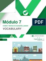 Carpeta M7S1 Vocabulary Public Places