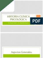 EXPO Historia Clínica Psicológica