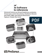 StudioLiveClassicSoftware ReferenceManual ES
