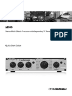 TC Electronic M-100 User Manual