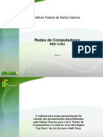 RES12502-2014-2-Capítulo 1- Redes de Computadores e a Internet - Kurose Ross