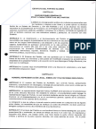 Partido Alianza (Panama) Estatutos