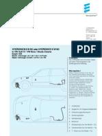 HYDRONIC 5 Golf IV 1998- Installation Manual