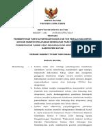SK Bupati Tim Penyelenggara Dan Tim Penilai Lomba Asman KAB Blitar