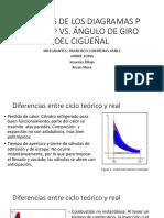 Análisis de Los Diagramas p Vs