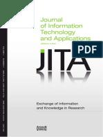 JITA Vol 1 Issue1