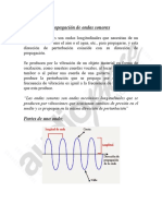 Tema 1 - Formación y propagación de ondas sonoras