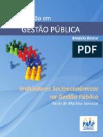 Indicadores Socioeconômicos Na Gestão Pública