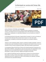 Las5.Mx-Cumple Presidenta Municipal Con Vecinos Del Coloso Alto