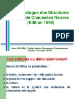 Cours EHTP - Catalogue de Structures 1995