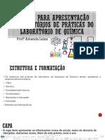 Normas Para Apresentação Dos Relatórios de Práticas De