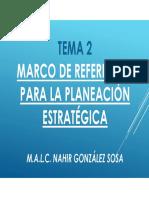 Marco de Referencia Planeacion Estrategica