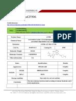 Datasheet of ECF506|CAS  1914078-41-3|sun-shinechem.com