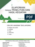 PPT 6. Laporan Akhir 2017