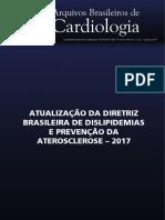 Atualização Da Diretriz Brasileira de Dislipidemias e Prevenção Da Aterosclerose – 2017