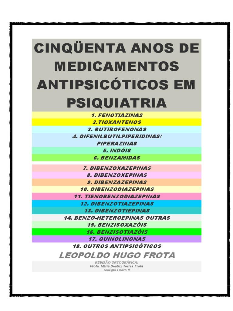 3f38cda1f90 50 Anos de Medicamentos Antipsicóticos Em Psiquiatria