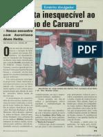 """Uma visita inesquecível ao """"Barão de Caruaru"""" - Nosso encontro com Aureliano Alves Netto"""