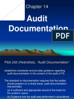 Chapter 14 Audit Documentation