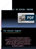 FUEL Cycle in Diesel Engine