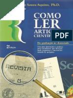 Como Ler Artigos Cientificos, 2 Ed. - Aquino, 2010
