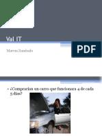 VALOR DE LAS INVERSIONES DE IT OK+