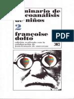 Seminario de Psicoanc3a1lisis de Nic3b1os 2 Franc3a7oise Dolto