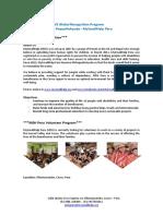 Infopack MSH Peru - GloRe EVS Volunteer Program