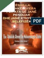 Këshilla të Shkëlqyera për ata që janë kthyer në Selefizëm
