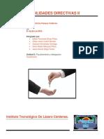 Cuestionario de Habilidades Directivas 2