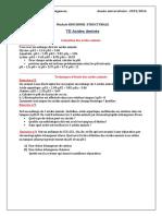 Td Acides Aminés