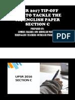 Upsr Section c Tip Off 014 2017